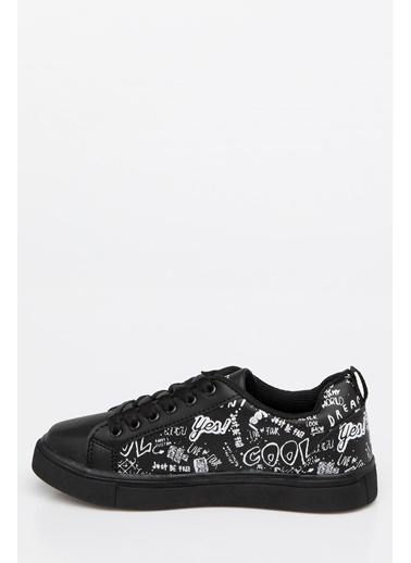 DeFacto Spor Ayakkabı Siyah